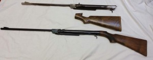 Greener rifles for restoration